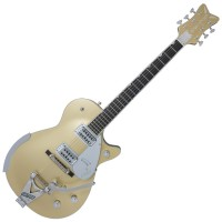 Photo GRETSCH GUITARS G6134T LIMITED EDITION PENGUIN W/BIGSBY CASINO GOLD EB