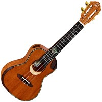 Photo ORTEGA ECLIPSE-CC4 - UKULELE CONCERT DOUBLE SOUNDHOLE