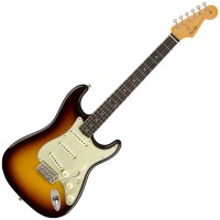 Photo FENDER VINTAGE CUSTOM 1959 STRATOCASTER NOS CHOCOLATE 3-COLOR SUNBURST