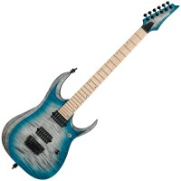 Photo IBANEZ RGD61AL STAINED SAPPHIRE BLUE BURST