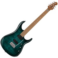 Photo STERLING BY MUSIC MAN JOHN PETRUCCI JP150 FLAME MAPLE TEAL