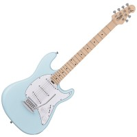 Photo STERLING BY MUSIC MAN CUTLASS SSS DAPHNE BLUE