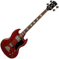 Photo GIBSON SG STANDARD BASS HERITAGE CHERRY