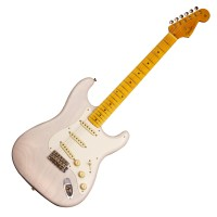 Photo FENDER CUSTOM SHOP 55 STRAT JOURNEYMAN RELIC WHITE BLOND KYLE MCMILLIN
