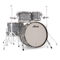 Photo LUDWIG KIT CLASSIC MAPLE 4 FÛTS BLUE OYSTER