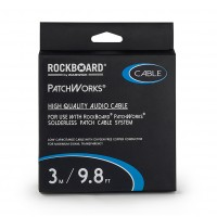 Photo ROCKBOARD CABLE POUR PATCHWORKS SOLDERLESS PATCH 3M