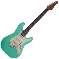 Photo SCHECTER NICK JOHNSTON TRADITIONAL ATOMIC GREEN