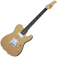 Photo SCHECTER PT USA PRODUCTION SERIES VINTAGE GOLD ROSEWOOD
