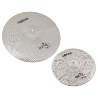 "Photo OBERA CYMBALS SET 2 CYMBALES SILENCIEUCES MUTE - 14"" 20"""