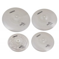 "Photo OBERA CYMBALS SET 4 CYMBALES SILENCIEUCES MUTE - 14"" 16"" 18"" 20"""