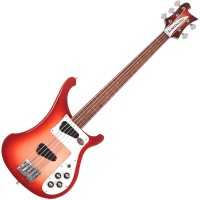 Photo RICKENBACKER 4003S/5 FIREGLO 5 CORDES