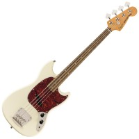 Photo SQUIER CLASSIC VIBE '60S MUSTANG BASS OLYMPIC WHITE LRL