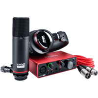Photo FOCUSRITE SCARLETT3 SOLO-STUDIO PACK