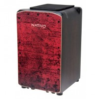 Photo NATIVO CAJON PRO PLUS RED