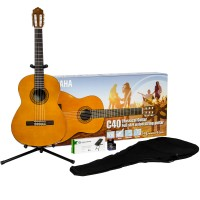 Photo YAMAHA C40 PACK PERFORMANCE - PACK GUITARE CLASSIQUE