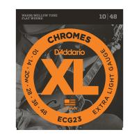 Photo D'ADDARIO ECG23 XL CHROMES EXTRA LIGHT 10/48