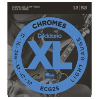 Photo D'ADDARIO ECG25 XL CHROMES LIGHT 12/52