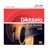 Photo D'ADDARIO EJ12 80/20 BRONZE MEDIUM 13/56