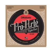 Photo D'ADDARIO EJ45 PRO ARTE NORMAL TENSION SILVER/CLEAR