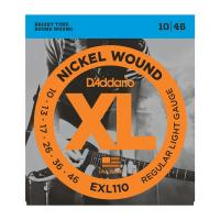 Photo D'ADDARIO EXL110 NICKEL WOUND REGULAR LIGHT 10/46