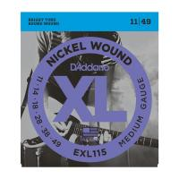 Photo D'ADDARIO EXL115 NICKEL WOUND MEDIUM/BLUES-JAZZ ROCK 11/49