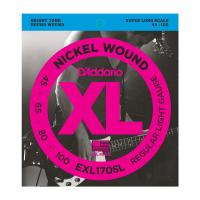 Photo D'ADDARIO EXL170SL NICKEL WOUND BASS LIGHT 45/100 SUPER LONG SCALE