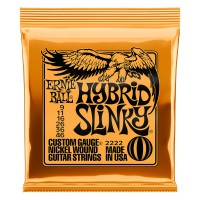 Photo ERNIE BALL ELECTRIC 2222 HYBRID SLINKY 9/46