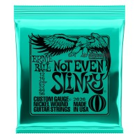 Photo ERNIE BALL ELECTRIC 2626 NOT EVEN SLINKY 12/56