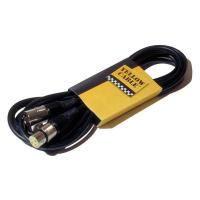 Photo YELLOW CABLE M05X XLR/XLR 5M