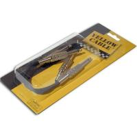 Photo YELLOW CABLE P020 JACK/JACK PATCH 20CM