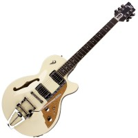 Photo DUESENBERG STARPLAYER TV VINTAGE WHITE + ETUI