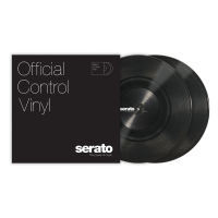 "Photo SERATO VINYL CONTROL TONE BLACK 10"" (LA PAIRE)"