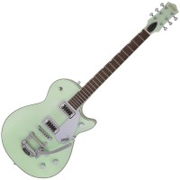 Photo GRETSCH GUITARS G5230T ELECTROMATIC JET FT SINGLE CUT BIGSBY BROADWAY JADE