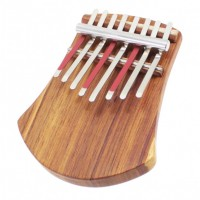 Photo HUGH TRACEY KALIMBA 8 NOTES SUR TABLE + PICKUP