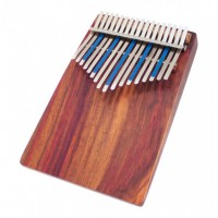 Photo HUGH TRACEY KALIMBA TREBLE CELESTE 17 NOTES SUR TABLE