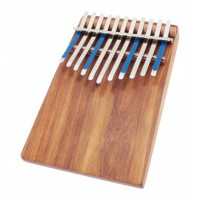 Photo HUGH TRACEY KALIMBA JUNIOR CELESTE DIATONIC 11 NOTES SUR TABLE
