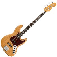 Photo FENDER AMERICAN ULTRA JAZZ BASS AGED NATURAL RW