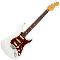 Photo FENDER AMERICAN ULTRA STRATOCASTER ARCTIC PEARL RW