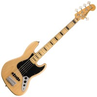 Photo SQUIER CLASSIC VIBE '70S JAZZ BASS V NATURAL MN