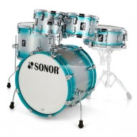 Photo SONOR AQ2 STAGE SET ERABLE AQUA SILVER BURST