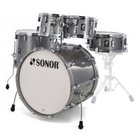 Photo SONOR AQ2 STAGE SET ERABLE TITANIUM QUARTZ