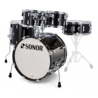 Photo SONOR AQ2 STAGE SET ERABLE TRANSPARENT STAIN BLACK