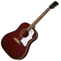 Photo GIBSON 60'S J-45 ORIGINAL WINE RED
