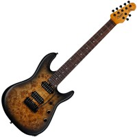 Photo STERLING BY MUSIC MAN JASON RICHARDSON 7 NATURAL POPLAR BURL BURST