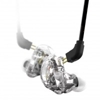 Photo STAGG SPM-235 TR ECOUTEURS INTRA-AURICULAIRE TRANSPARENT
