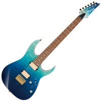 Photo IBANEZ RG421HPFM BLUE REEF GRADATION