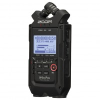 Photo ZOOM H4N PRO BLACK ENREGISTREUR PORTABLE AUDIO