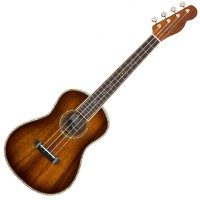 Photo FENDER CALIFORNIA COAST MONTECITO TENOR UKE TOBACCO BURST - EDITION LIMITEE