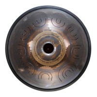 "Photo SOUNDWATCHINGDRUM TONGUE DRUM 18"" 9 NOTES - D AKEBONO 432HZ"