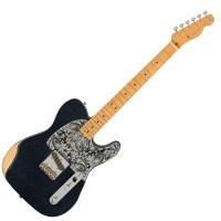 Photo FENDER BRAD PAISLEY ESQUIRE BLACK SPARKLE